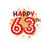Happy 63th Birthday - 237827758