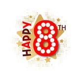 Happy 8th Birthday - 237827960