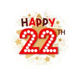 Happy 22th Birthday - 237828172