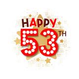 Happy 53th Birthday - 237828175