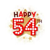 Happy 54th Birthday - 237828394