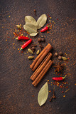 Spices masala for cooking Indian dishes - 237873327