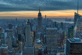New York City skyscrapers, aerial panorama view - 237877181