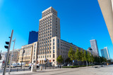 Warsaw business center of the capital