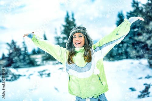 mata magnetyczna Celebrating Winter Vacations