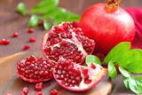 Ripe Red Pomegranates - 237929991