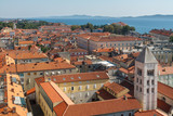 view of the city of zadar croatia