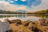 Paisaje de lago - 237939149