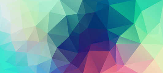 Flat vintage color geometric triangle wallpaper