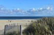 Cool, clear, autumn day filled with beautiful clouds at the seashore at Long Branch, NJ -3