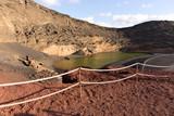 Green Lagoon - Lago de los Clicos - near the town of El Golfo. Lanzarote. Canary Islands - 238001927