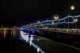 Bayonne à noël la nuit © Image'in