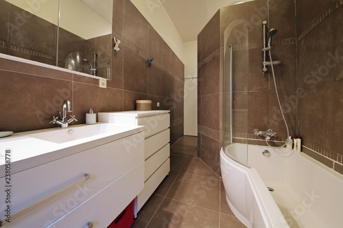 canvas print picture salle de bain appartement bain douche