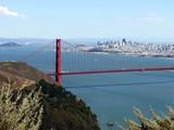 Golden Gate Bridge overlooking San Francisco - USA