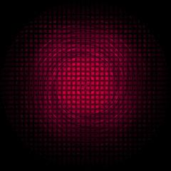 Background swirl circle red glow