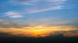 Sunset Sky Background in summer - 238063165