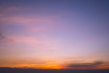 Sunset Sky Background in summer - 238063311