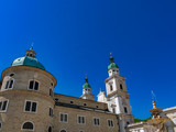 Salzburg Cathedral and Residence Fountain, Austria - 238067783