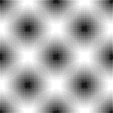 Abstract black and white halftone seamless pattern. - 238075127