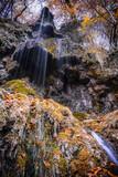 Wasserfall Bad Urach im Herbst - 238075575