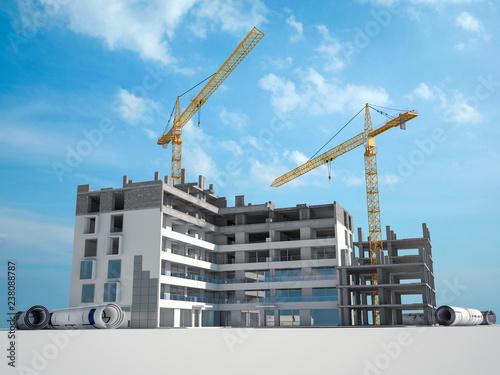 Zobacz obraz Construction project