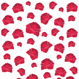 cute roses pattern cartoon