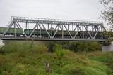 most kolejowy na granicy polsko-ukraińskiej w hrubieszowie