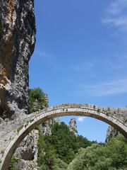 kokkori arched stone bridge Zagoria Greece © goce risteski