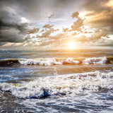 Tropical ocean sunrise - 238170166