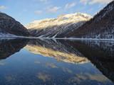 lago alpino in inverno  © GIOVANNI