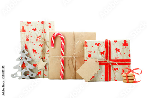 Christmas gifts and sweets - 238183155