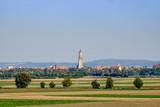 View to the town Noerdlingen
