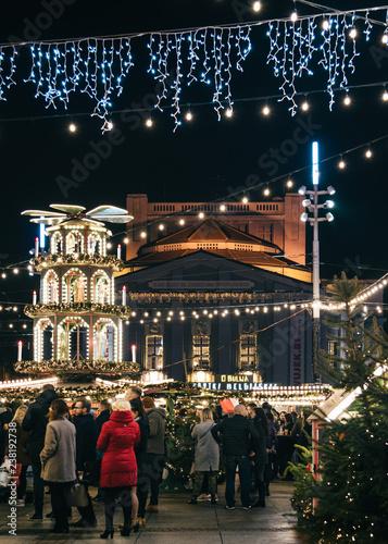 Katowice Rynek - Jarmark Świąteczny