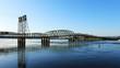 View of the bridge Vancouver, Washington to Portland, Oregon