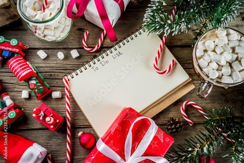Preparation for xmas holidays