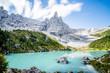 Quadro Lago di Sorapis in Italy