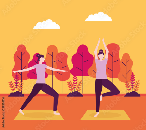 people yoga activitie - 238236314