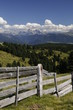 Quadro Blick vom Villanderer Berg zu den Dolomiten