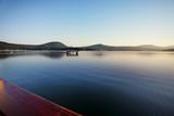 Dawn calm at the lake