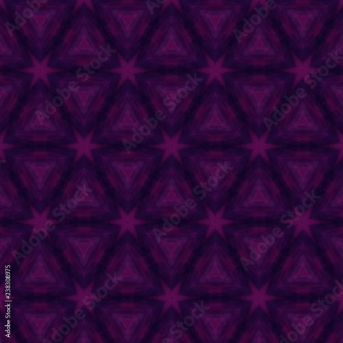 Abstract cosmic background for creative graphic design products decoration. Fashion backdrop pattern. Magic wallpaper. Purple and violet deep colors. Digital watercolor and oil painting. Mystery glow. - 238308975
