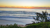 Sunrise Sunset Dawn Early Morning From Hill Ocean Wave Surfing Surf trip travel holiday weekend