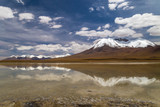View at a lagoon in Bolivian Altiplano - 238339390
