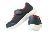 blue sport sneakers