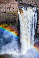 waterfall and rainbow © Scott Bufkin