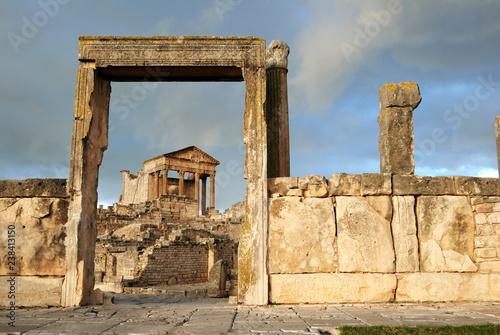Rzymskie ruiny Dougga