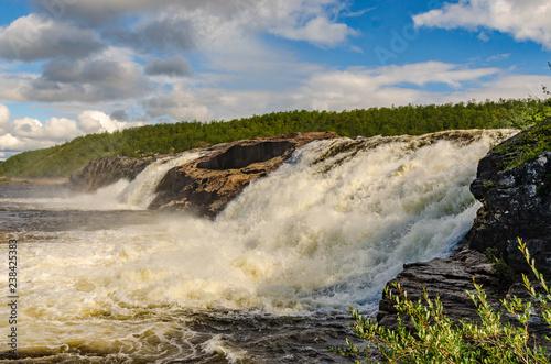 Waterfalls in Sweden