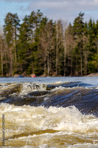 River in Finland - 238429968
