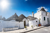 Group of Trulli with symbols,