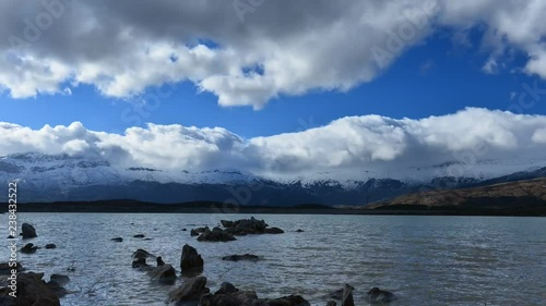 wind, clouds, mountains, vibrations and tranquility in water