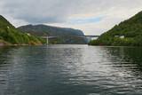 a bridge over sea in Norway